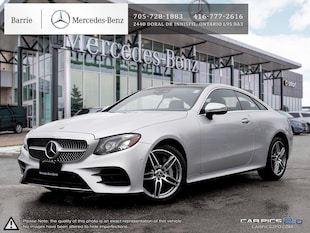 2018 Mercedes-Benz E400 Never Driven! Huge Savings! Coupe