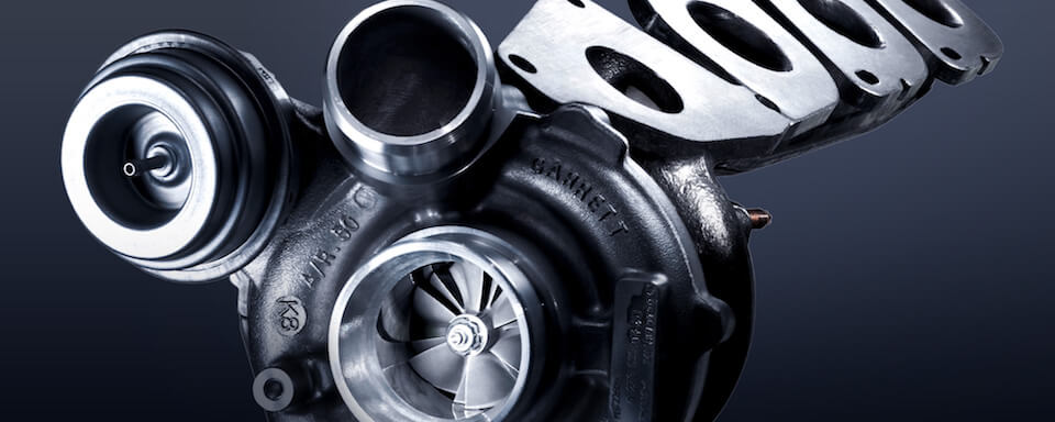 Mercedes-Benz turbocharger