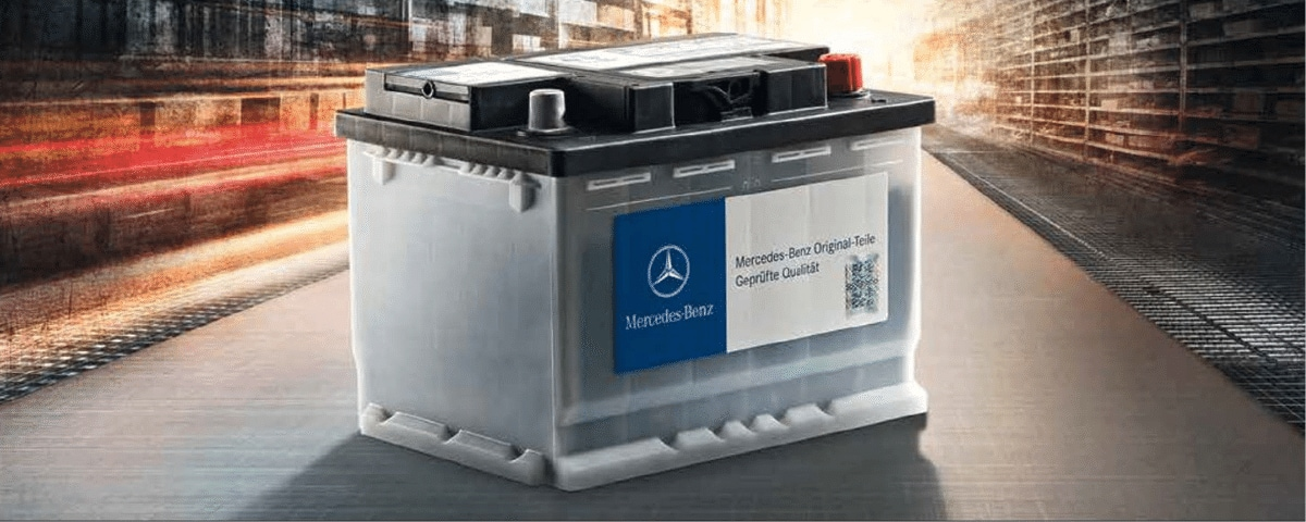 OEM Mercedes-Benz battery
