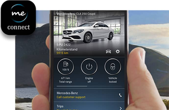 Mercedes me connect app