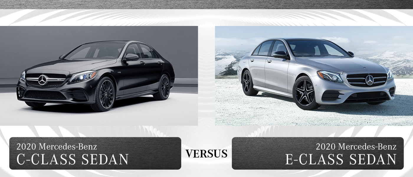 2020 Mercedes-Benz C-Class vs. E-Class: The Differences ...