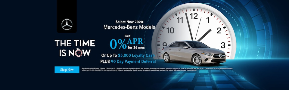 Select New 2020 Mercedes Benz Models