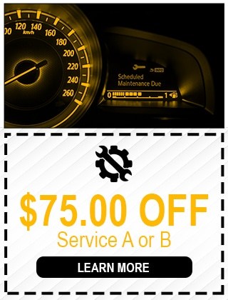 $75 OFF SERVICE A OR B