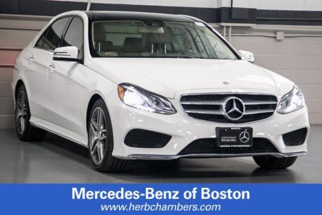 Used 2016 Mercedes-Benz E350   4MATIC Sport Sedan in Boston