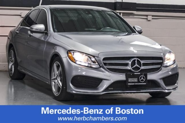 2016 Mercedes-Benz C-Class C 300 4MATIC Sport Sedan