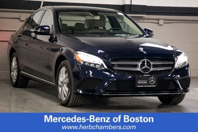 Used 2019 Mercedes-Benz C-Class C 300 4MATIC Sedan in Boston