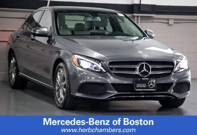 Used 2017 Mercedes-Benz C-Class C 300 4MATIC Sedan in Boston