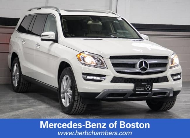 Used 2013 Mercedes-Benz GL-Class GL 450 SUV in Boston