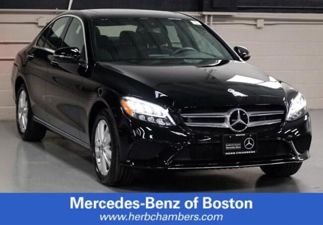 Used 2019 Mercedes-Benz C-Class C 300 Sedan in Boston