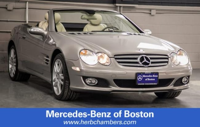 Used 2008 Mercedes-Benz SL-Class V8 Convertible in Boston