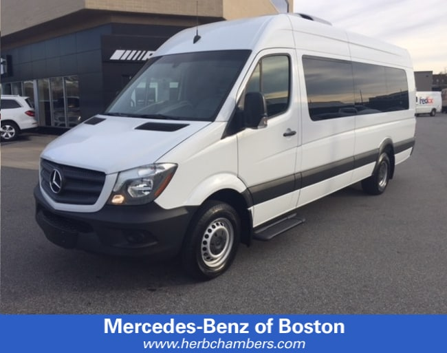 2017 Mercedes-Benz Sprinter Smartliner Wheelchair Van
