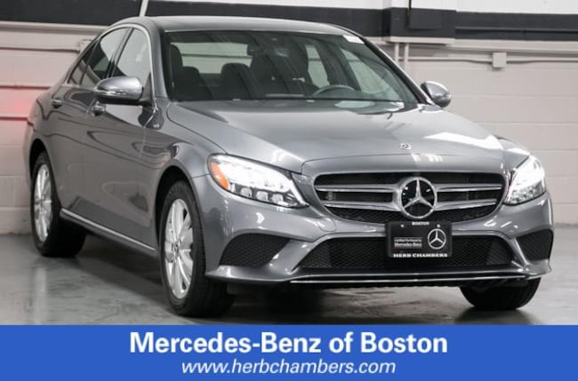 Used 2019 Mercedes-Benz C-Class C 300 4MATIC Sedan in Boston