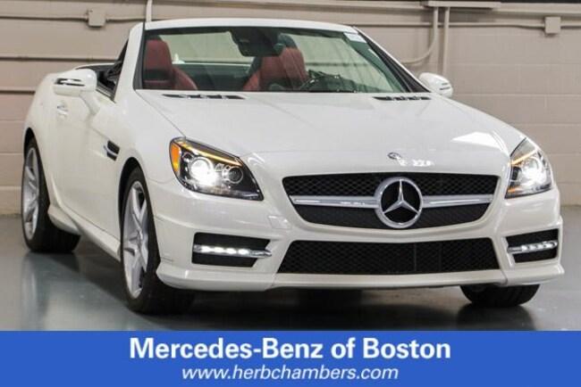 Used 2016 Mercedes-Benz SLK SLK 350 Roadster in Boston