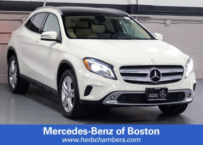 Certified Pre-Owned 2016 Mercedes-Benz GLA 250 GLA 250 SUV for sale near Boston MA