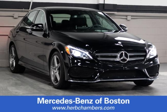 Used 2016 Mercedes-Benz C-Class C 300 4MATIC Sport Sedan in Boston