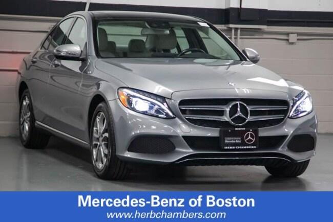 Used 2016 Mercedes-Benz C-Class C 300 4MATIC Sedan in Boston