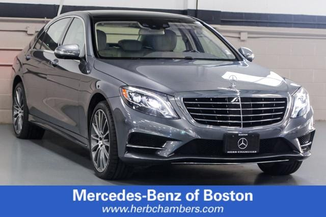 Featured Pre Owned 2017 Mercedes-Benz S-Class S 550 4MATIC Sedan for sale near you in Norwood, MA