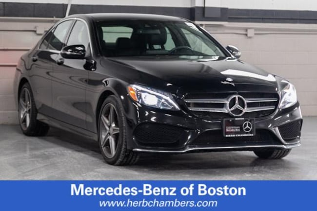 Used 2016 Mercedes-Benz C-Class C 300 Sport Sedan in Boston