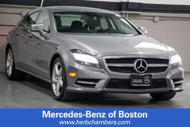 Used 2014 Mercedes-Benz CLS 550 4MATIC Coupe in Boston
