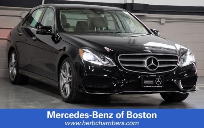 Used 2016 Mercedes-Benz E-Class E 350 4MATIC Sedan in Boston