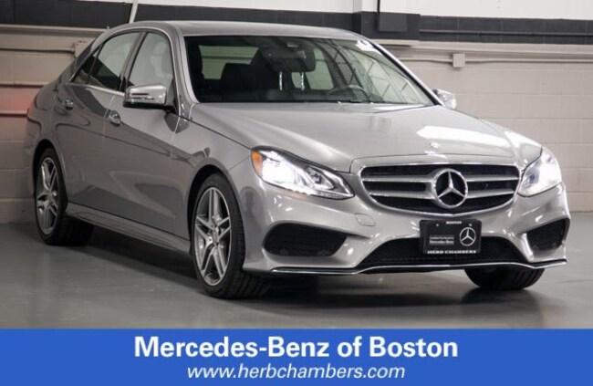 Used 2014 Mercedes-Benz E-Class E 350 4MATIC Sedan in Boston