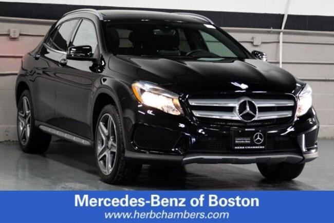 2016 Mercedes-Benz GLA 250 4MATIC SUV
