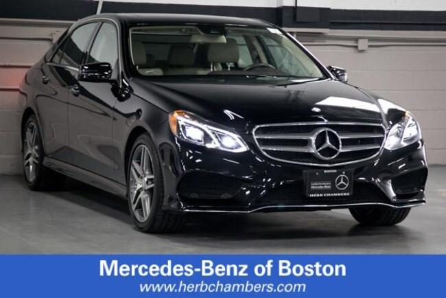 Used 2016 Mercedes-Benz E-Class E 350 4MATIC Sport Sedan in Boston