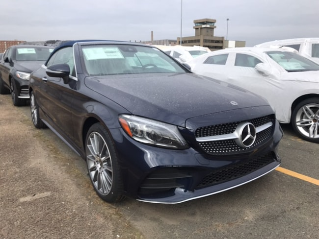 New 2019 Mercedes-Benz C-Class C 300 4MATIC Cabriolet in Boston