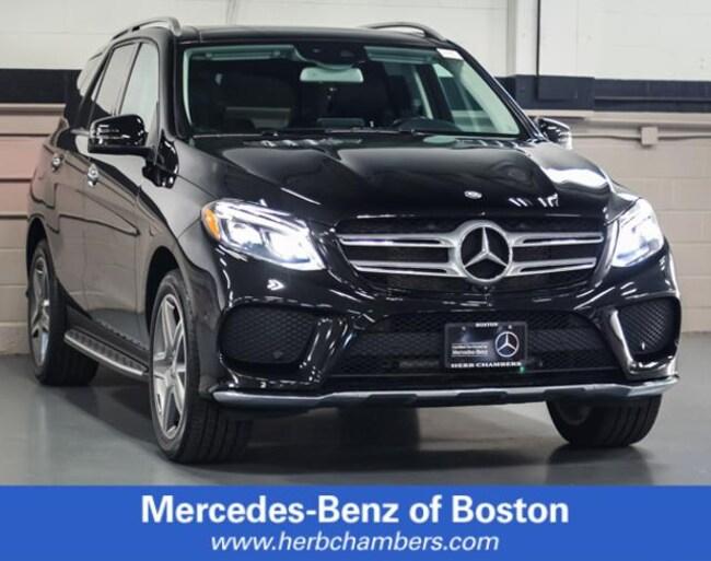 Used 2016 Mercedes-Benz GLE 400 4MATIC SUV in Boston