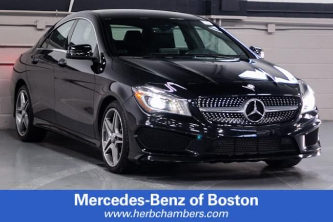 Certified Pre-Owned 2015 Mercedes-Benz CLA CLA 250 Coupe for sale near Boston MA