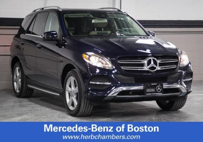 Used 2016 Mercedes-Benz GLE GLE 350 SUV in Boston