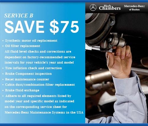 Mercedes-Benz Service Specials | Service near Belmont