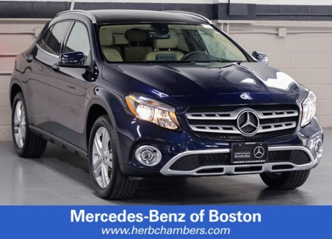 Used 2019 Mercedes-Benz GLA 250 4MATIC SUV in Boston