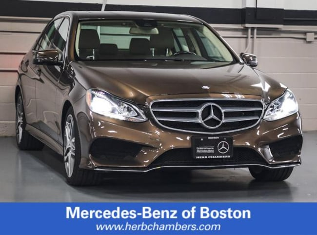 Used 2016 Mercedes-Benz E-Class E 350 4matic Sport Sedan in Boston