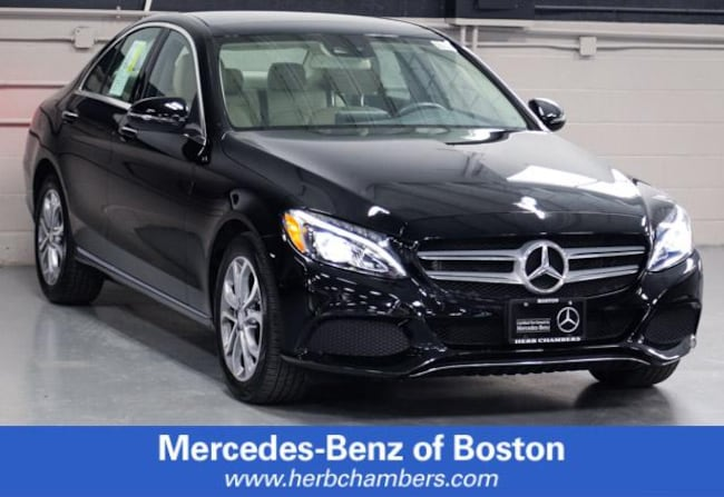Used 2016 Mercedes-Benz C-Class C 300 Sedan in Boston