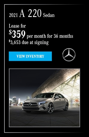 2021 A 220 Sedan - February Offer