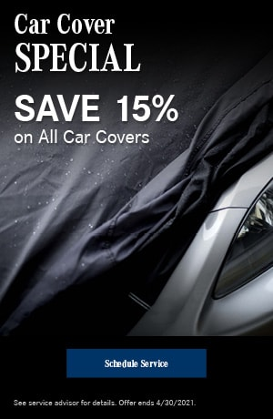 Car Cover Special- April Special