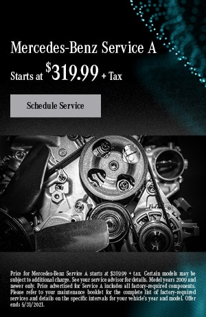 Mercedes-Benz Service A | May