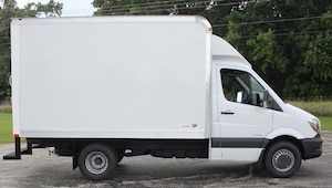 2018 Mercedes-Benz Sprinter 3500 Cab Chassis 144 WB Box Truck by Midway