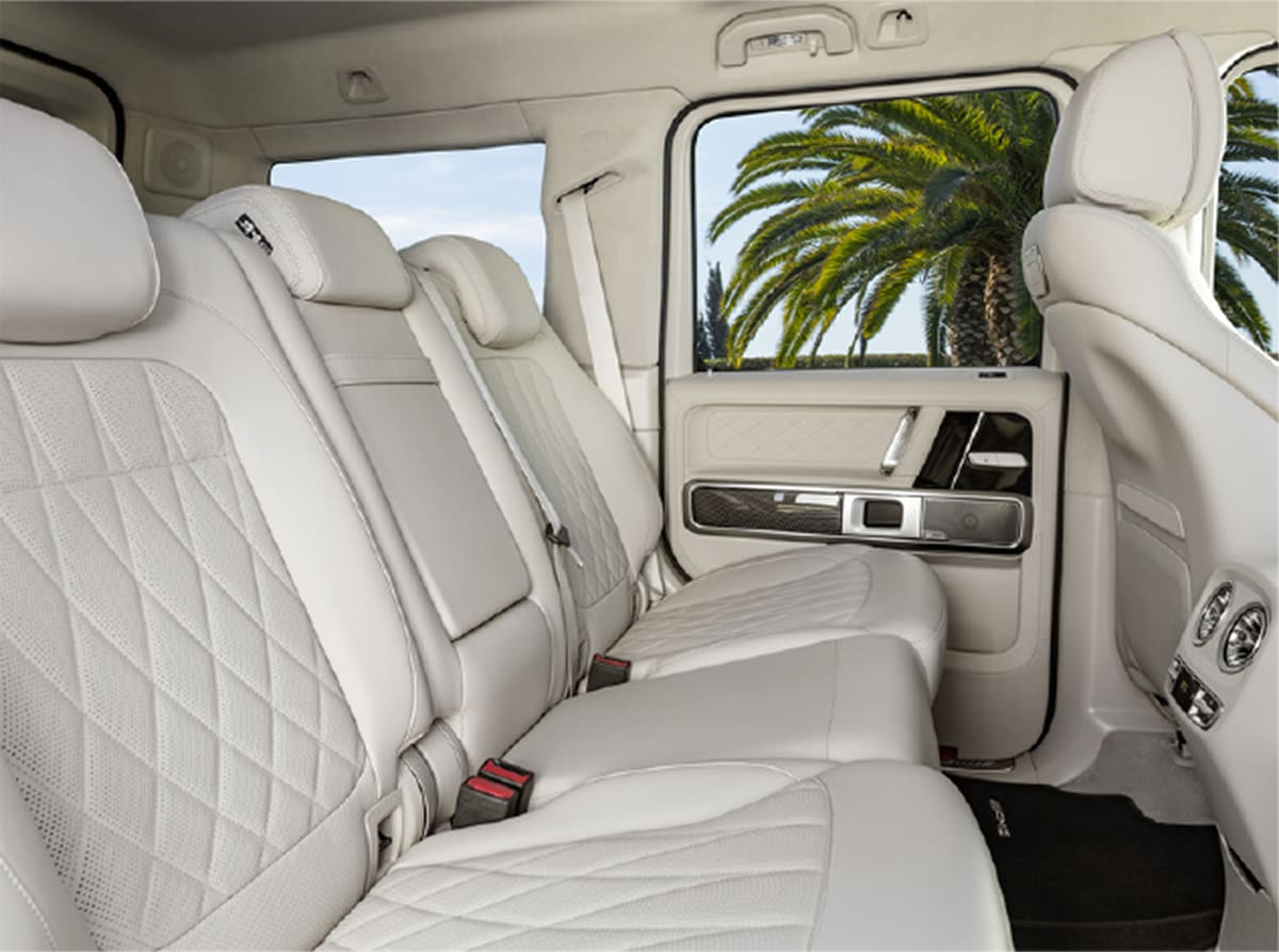 Inside G-Wagon