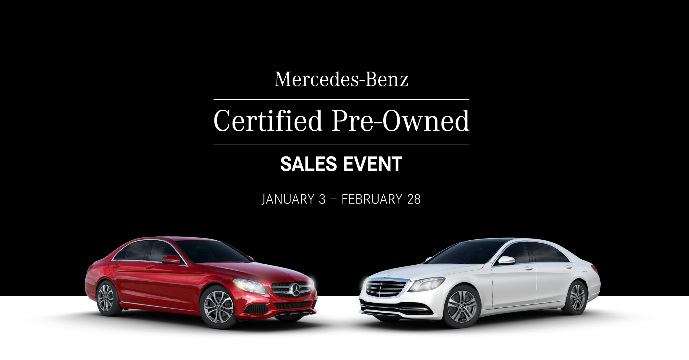 Certified Pre-Owned Sales Event Banner