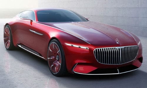 Mercedes-Benz Future Car Concepts 2020 Vision Maybach 6 Coupe in Colorado Springs
