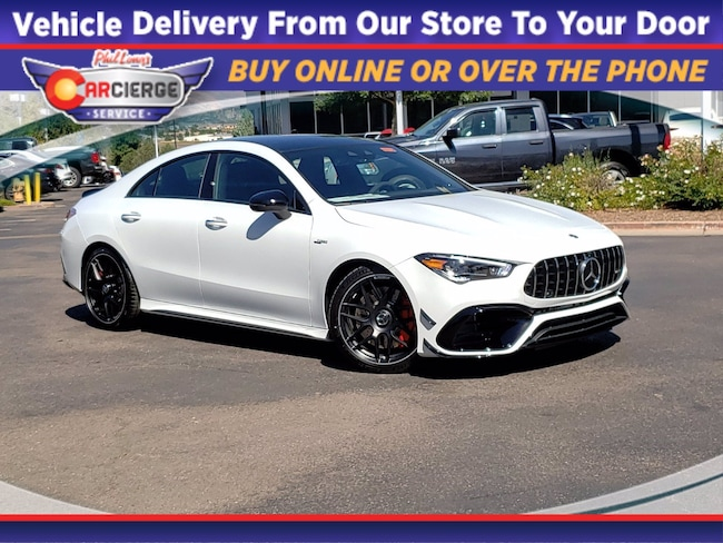 2021 Mercedes-Benz AMG CLA 45 4MATIC Coupe