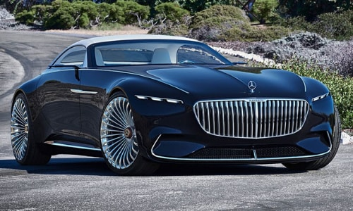Mercedes-Benz Future Car Concepts 2020 Vision Maybach 6 Cabriolet in Colorado Springs