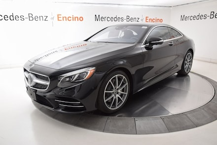2020 Mercedes-Benz S-Class S 560 4MATIC Coupe