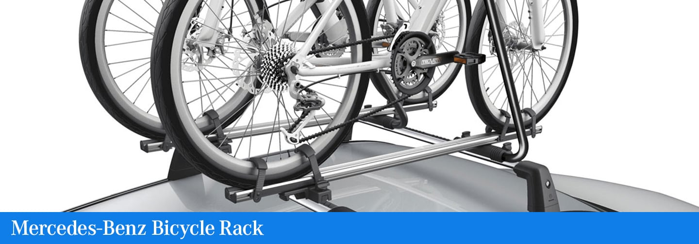 Mercedes-Benz Bicycle Rack | Mercedes-Benz of Fayetteville