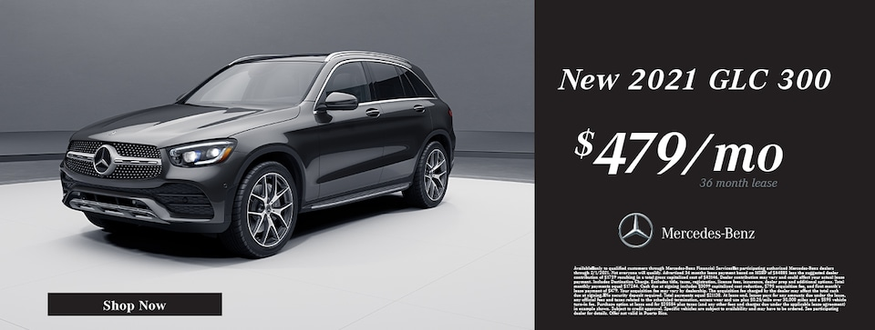 New 2021 Mercedes-Benz GLC 300 Lease Offer
