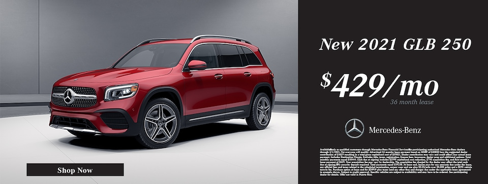New 2021 Mercedes-Benz GLB 250 Lease Offer