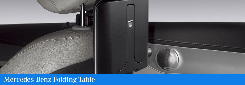 Mercedes-Benz Folding Table | Mercedes-Benz of Fayetteville