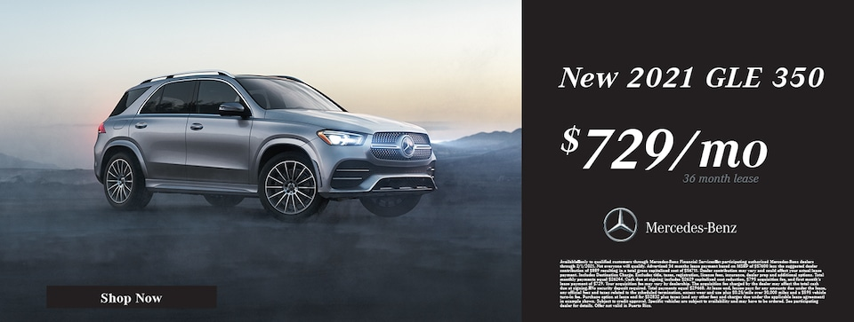 New 2021 Mercedes-Benz GLE 350 Lease Offer